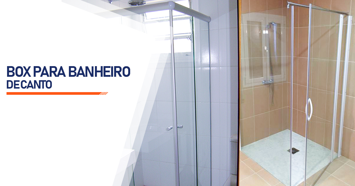 Box de Canto para Banheiro  Brasília