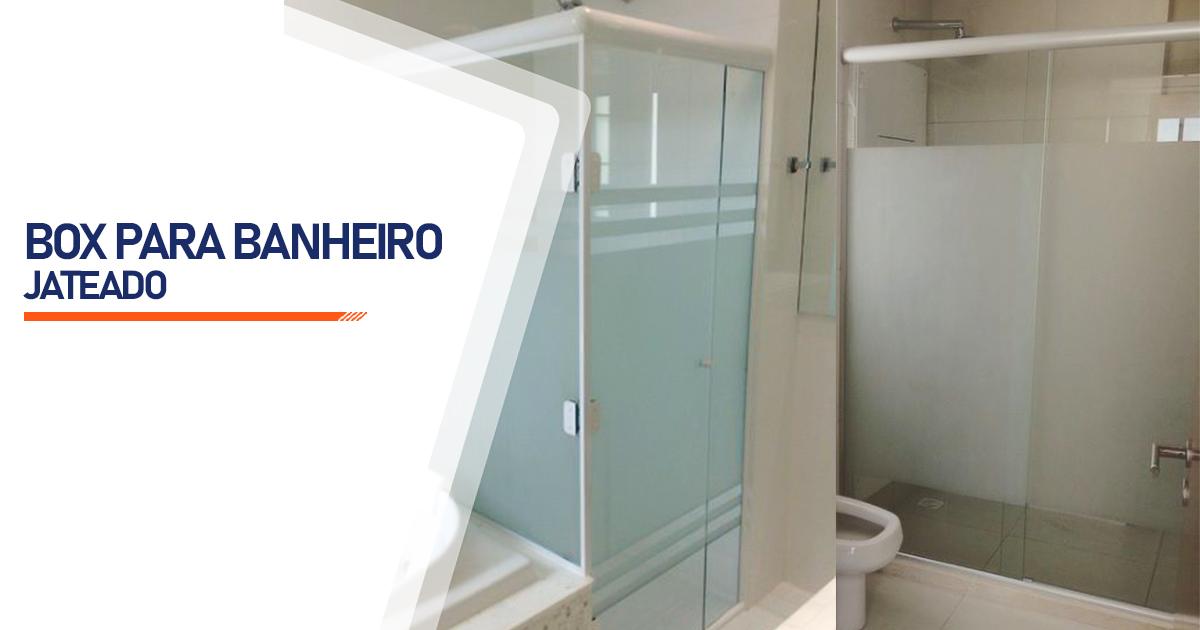 Box Jateado para Banheiro Brasília