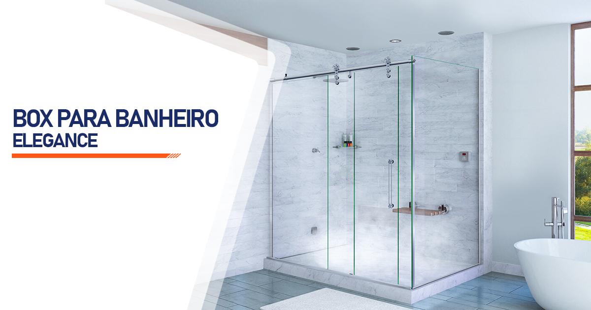 Box para Banheiro Elegance  Brasília