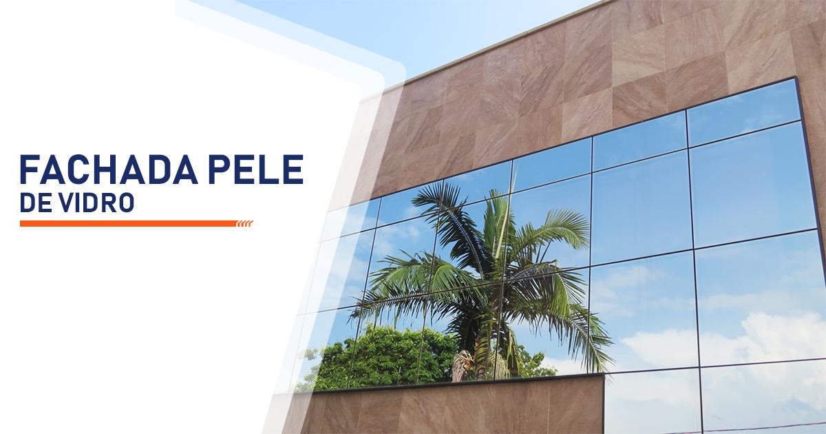 Fachada Pele de Vidro Brasília