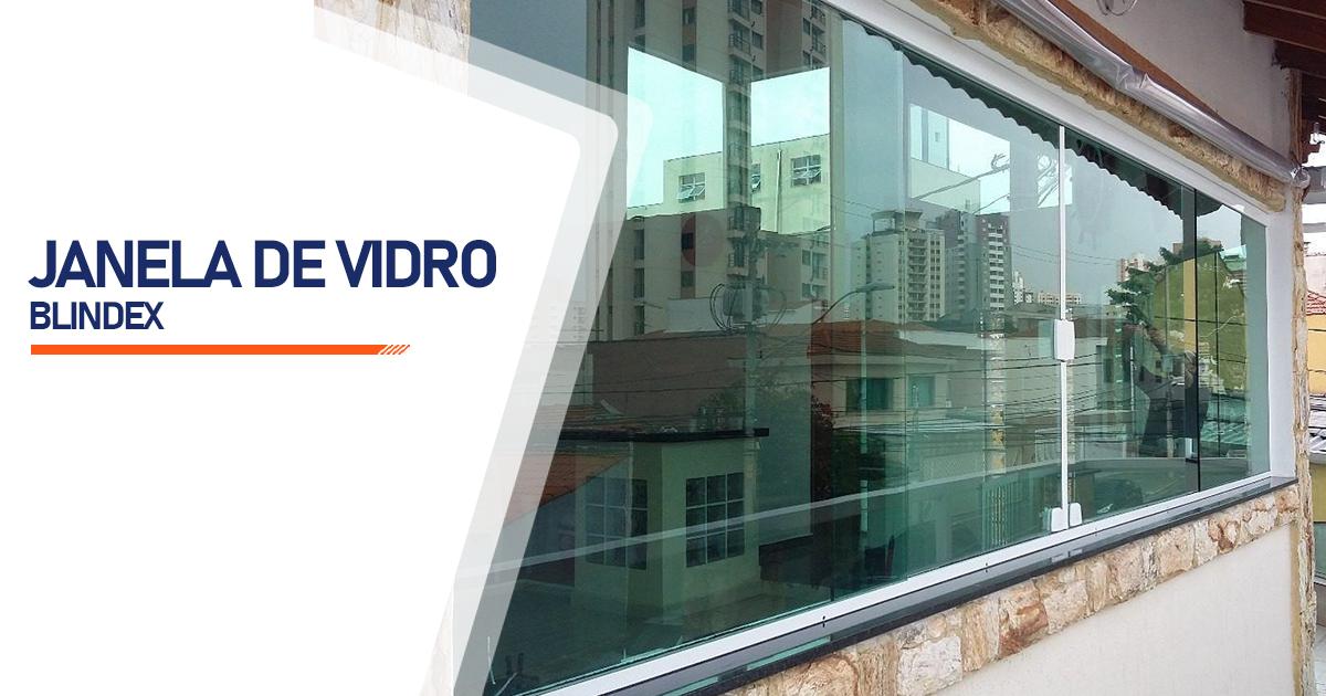 Janela De Vidro Blindex Brasília