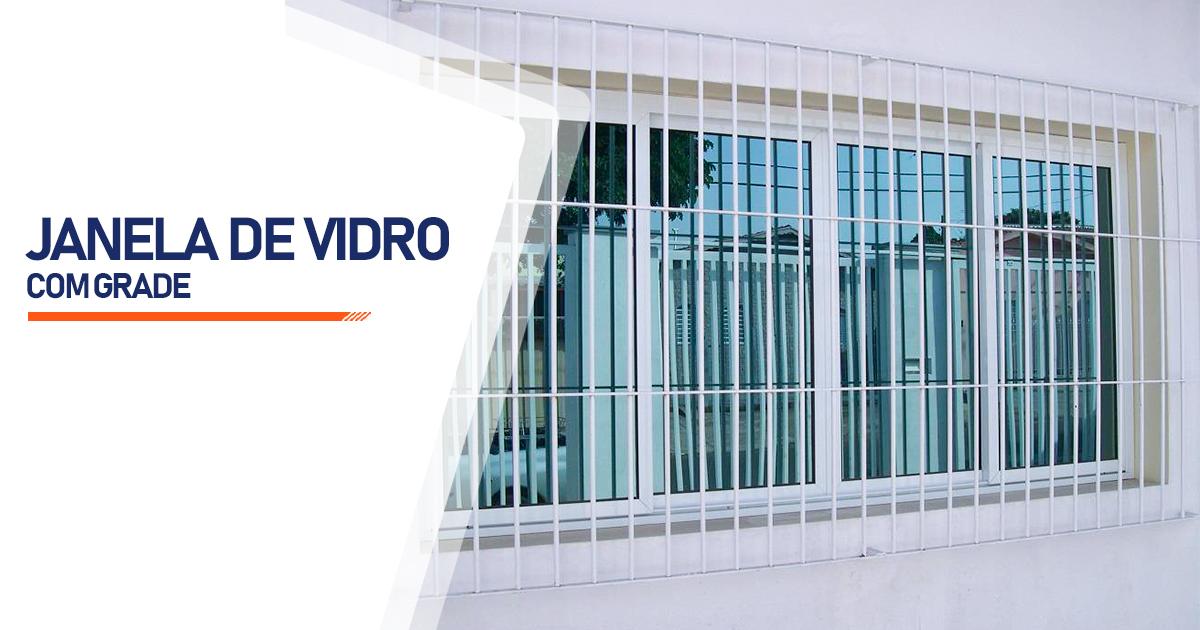 Janela De Vidro Com Grade Brasília