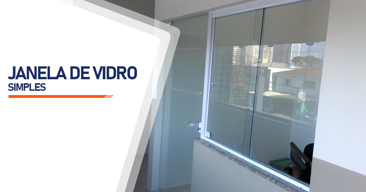 Janela De Vidro Simples Brasília