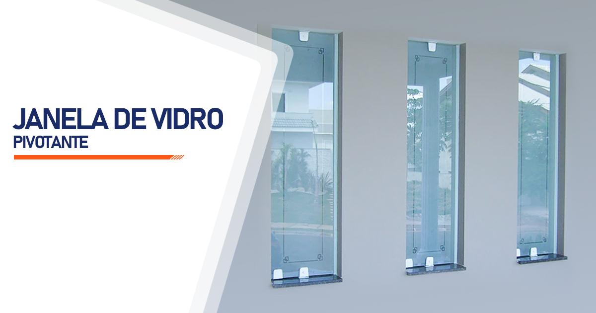 Janela Pivotante De Vidro Brasília
