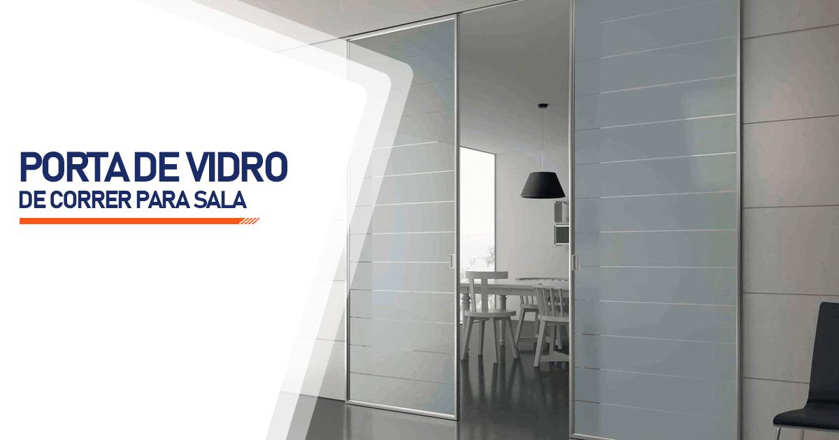 Porta De Vidro De Correr Para Sala Brasília