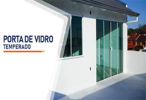 Porta de Vidro Temperado Brasília