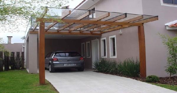 Telhado De Vidro para Garagem Brasília