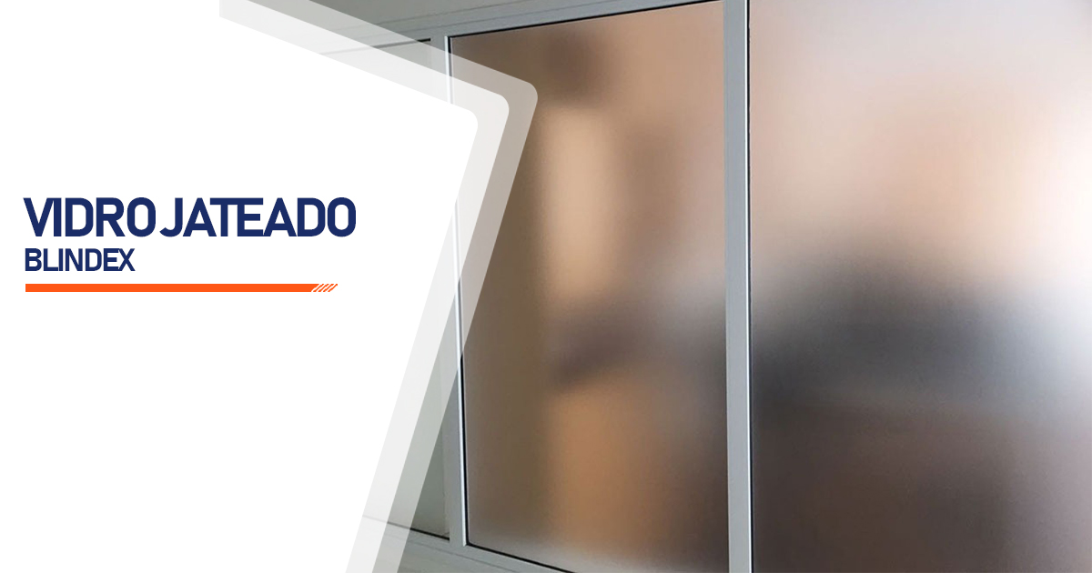 Vidro Blindex Jateado Brasília